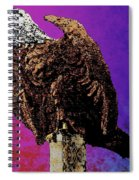 Eagle Of Wwi Spiral Notebook