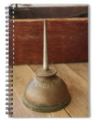 Eagle Oil Can Spiral Notebook