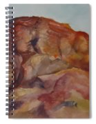 Eagle Rock In Valley Of Fire Spiral Notebook