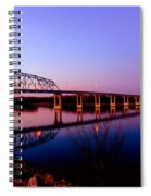 Eagle Watch Along The Mississippi Spiral Notebook