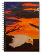 Eagles Are Back                 76 Spiral Notebook
