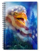 Eagle's Cry Spiral Notebook