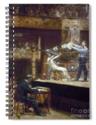 Eakins: Between Rounds Spiral Notebook