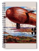 Early 1900s Military Airship Spiral Notebook