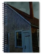 Early American Moonlight Spiral Notebook