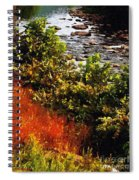 Early Autumn Along The Naugatuck Spiral Notebook