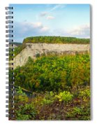 Early Autumn At Genesee River Canyon New York Spiral Notebook