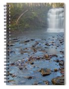 Early Autumn At Pixley Falls Spiral Notebook