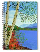 Early Autumn Birches Spiral Notebook