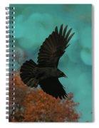 Early Autumn Flight Spiral Notebook