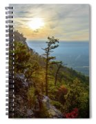 Early Autumn On Pilot Mountain Spiral Notebook