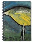 Early Bird At Sunrise Spiral Notebook