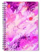 Early Celebration Spiral Notebook