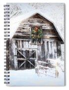 Early December Snowfall Morning Spiral Notebook