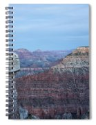 Early Evening At Grand Canyon No. 2 Spiral Notebook