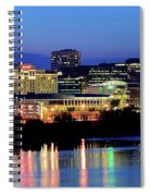 Early Evening In Hartford Spiral Notebook