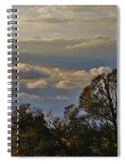 Early Evening Sunset 1 Spiral Notebook