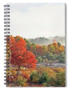 Early Fall Morning Spiral Notebook