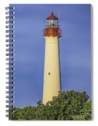 Early Light At Cape May Lighthouse Spiral Notebook