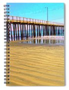 Early Morning At Avila Beach Spiral Notebook