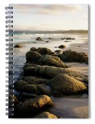 Early Morning At Friendly Beaches Spiral Notebook