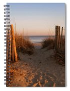 Early Morning At Myrtle Beach Sc Spiral Notebook