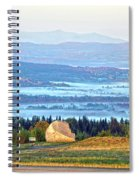 Early Morning At Sentinel Rock Spiral Notebook
