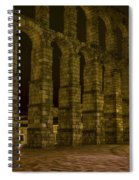 Early Morning At The Aqueduct Of Segovia Spiral Notebook