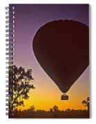 Early Morning Balloon Ride Spiral Notebook