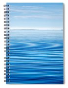 Early Morning Blues Spiral Notebook