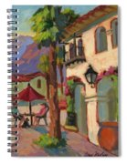 Early Morning Coffee At Old Town La Quinta Spiral Notebook