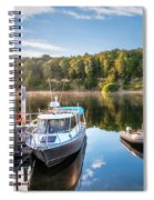 Early Morning Cruises To Doubtfull Sound Spiral Notebook