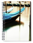 Early Morning Gondolas Spiral Notebook