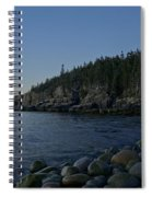 Early Morning In Acadia Spiral Notebook