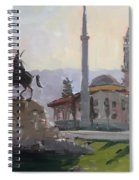 Early Morning In Tirana Spiral Notebook