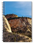 Early Morning In Zion Canyon Spiral Notebook