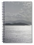 Early Morning Island View Spiral Notebook