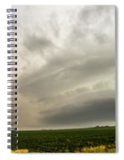 Early Morning Nebraska Storm Chasing 012 Spiral Notebook