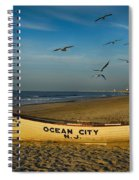 Early Morning Ocean City Nj Spiral Notebook