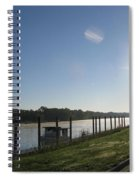 Early Morning On The Savannah River Spiral Notebook