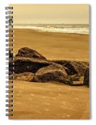 Early Morning Tybee Beach Spiral Notebook
