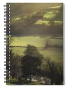 Early Morning Welsh Sheep Farming Spiral Notebook