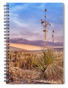 Early Morning Yucca - White Sands - New Mexico Spiral Notebook