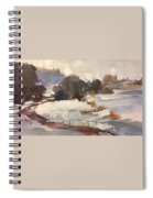 Early Snow Spiral Notebook