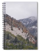 Early Snows Spiral Notebook