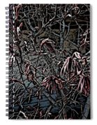 Early Spring Abstract Spiral Notebook