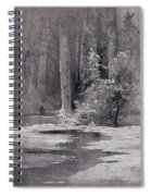 Early Spring Backwoods 1884 Alexey Kondratievich Savrasov Spiral Notebook