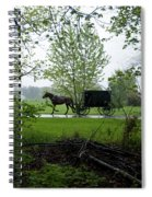 Early Spring Buggy Spiral Notebook