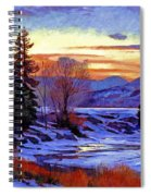 Early Spring Daybreak Spiral Notebook