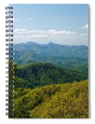 Early Spring On The Blue Ridge Parkway Spiral Notebook